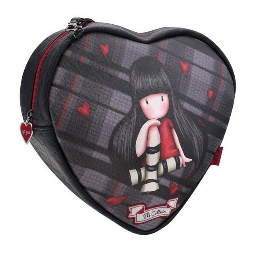 2f65e5a324 Τσάντα χιαστί-ώμου Gorjuss Heart Shoulder The Collector 846GJ01 Santoro -  5018997623329
