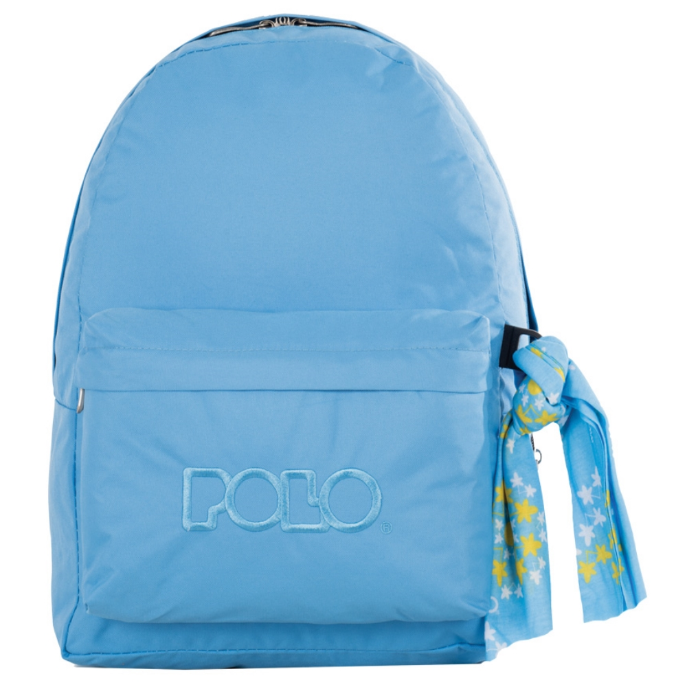 1f9cdf1d23 Τσάντα σακίδιο με μαντήλι γαλάζιο 9-01-135-25 Polo - 5201927087449